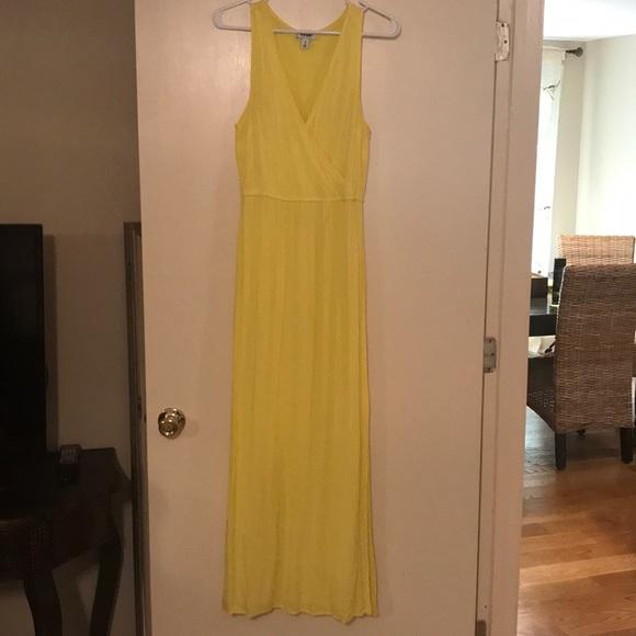 362ba297c Old Navy Dresses | Bright Yellow Gauze Maxi Dress | Poshmark